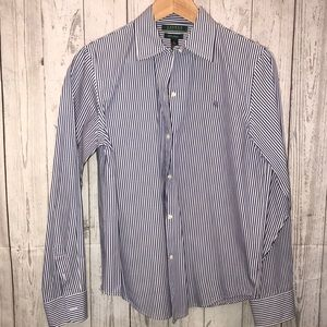 Lauren Ralph Lauren Women's Striped Button Down